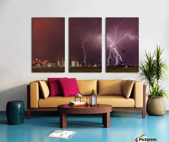 Spread The Light Split Canvas print