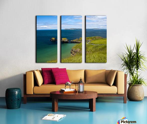 Northern Ireland Coast View Split Canvas print