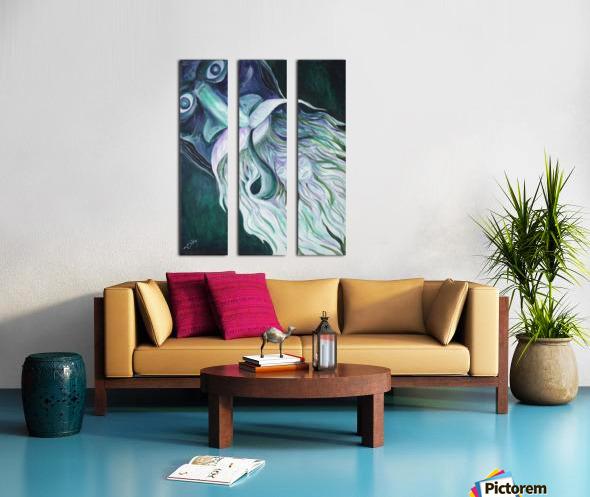 RA 029 - בא בימים Split Canvas print