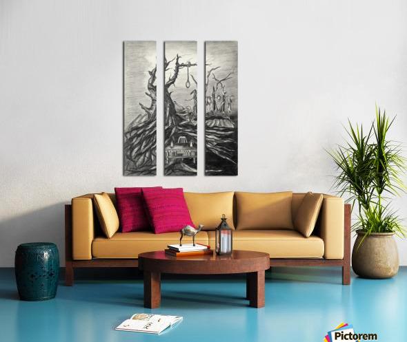 RA 011 - סעודה אחרונה Split Canvas print