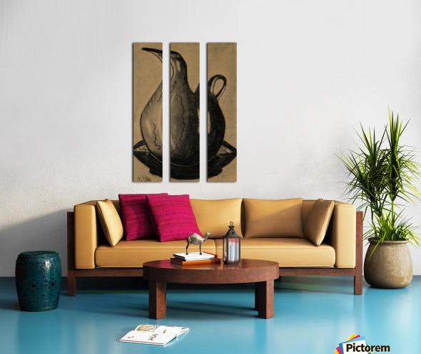 RA 030 -  כד מים Split Canvas print