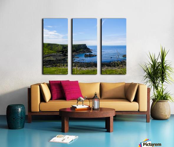 Northern Ireland Coast View II Split Canvas print
