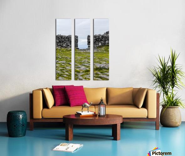 Opened Door Split Canvas print
