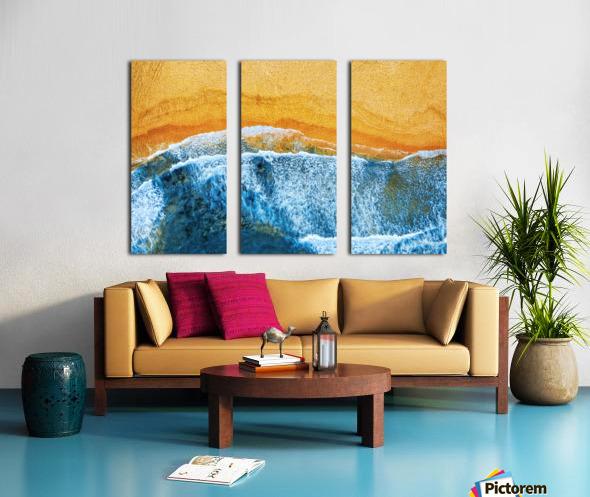 Golden Beach I Split Canvas print