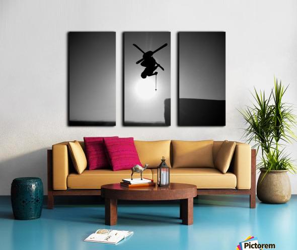 Icarus Split Canvas print
