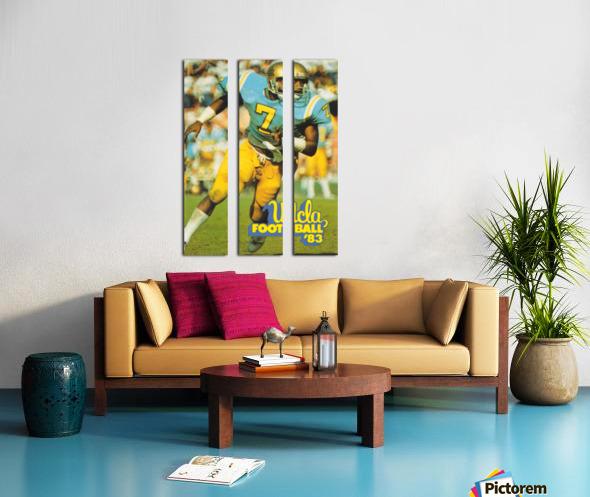 1983 UCLA Bruins Football Poster Split Canvas print