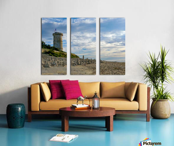 Isle of Re Split Canvas print