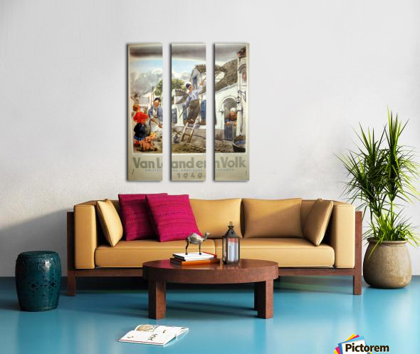 VonLandenVolk Split Canvas print