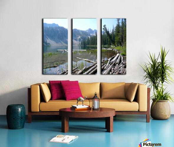 Sawtooth Lake Split Canvas print