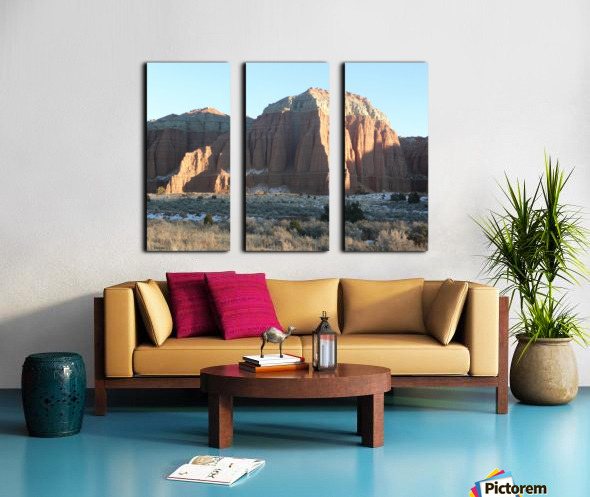Highlights on Cathedral Split Canvas print