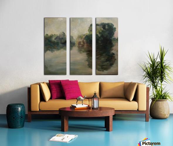Monet study two Split Canvas print