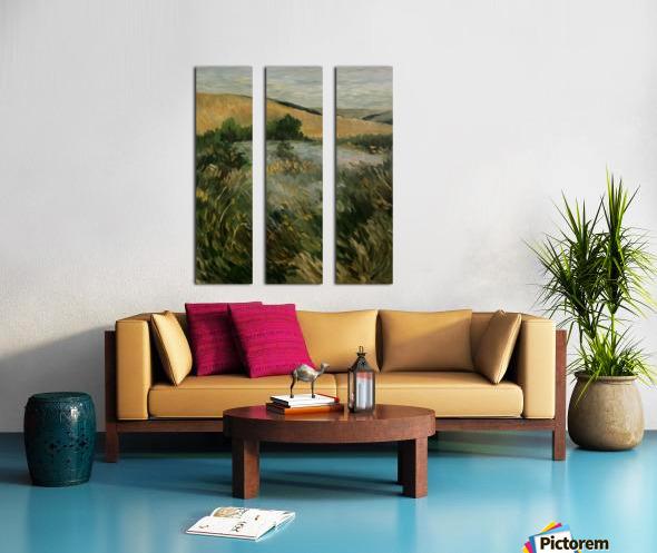 Arkansas field Split Canvas print