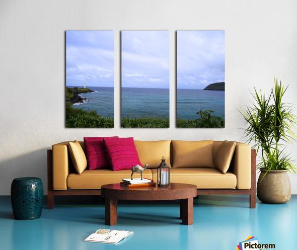 Ninini Point Lighthouse Kauai Hawaii Split Canvas print