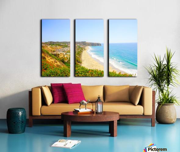 Beautiful Coastal View Newport Beach California 2 of 2 Split Canvas print