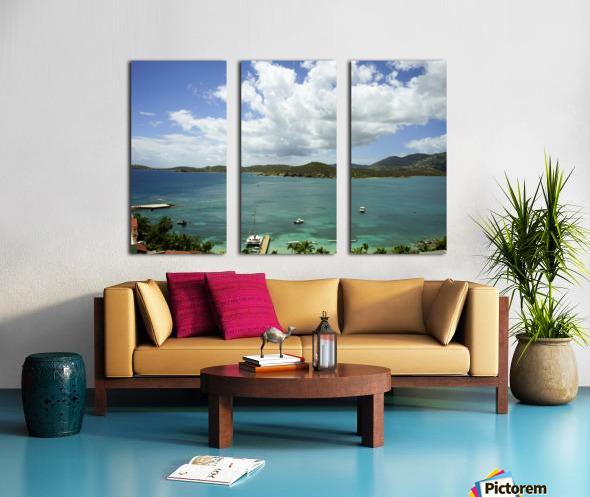 Saint Thomas in the Caribbean Islands Split Canvas print