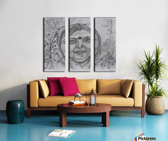 Laxmi Split Canvas print