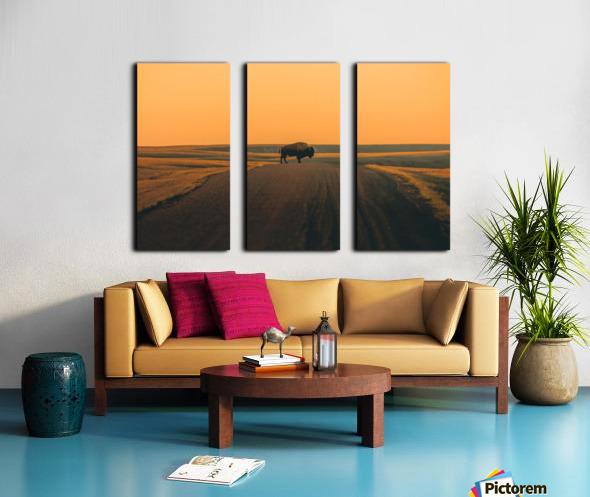 The Crossing Split Canvas print
