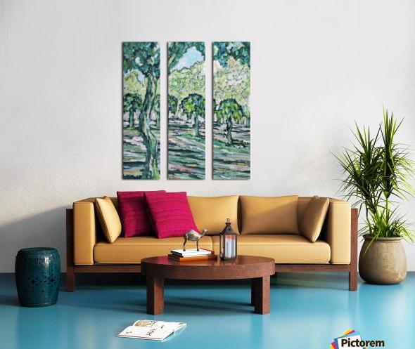 MulberryTrees Split Canvas print