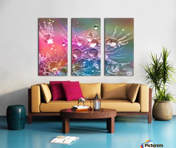 drop of water Split Canvas print