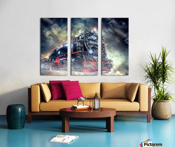 Ghost Train Split Canvas print