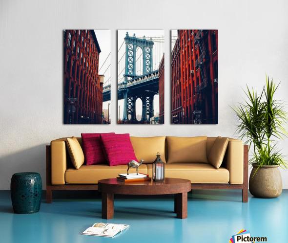 George Washington Bridge  Split Canvas print