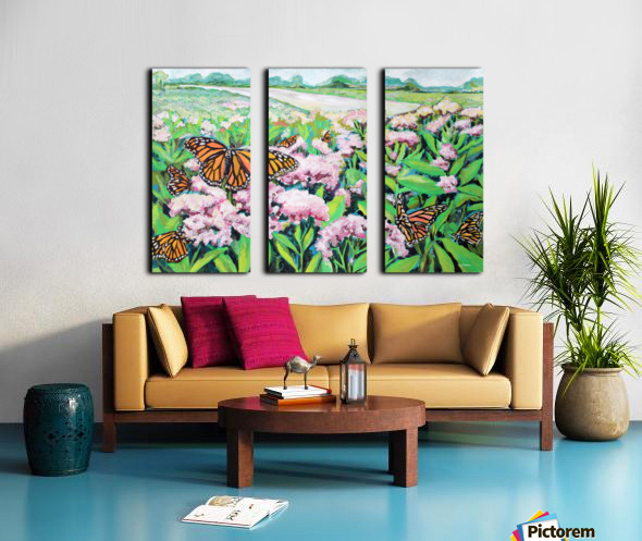 CountyMonrachButterflies Split Canvas print