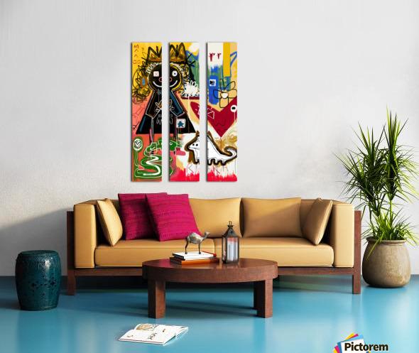 RARA Split Canvas print