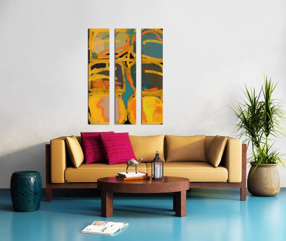 Folie Douce Split Canvas print