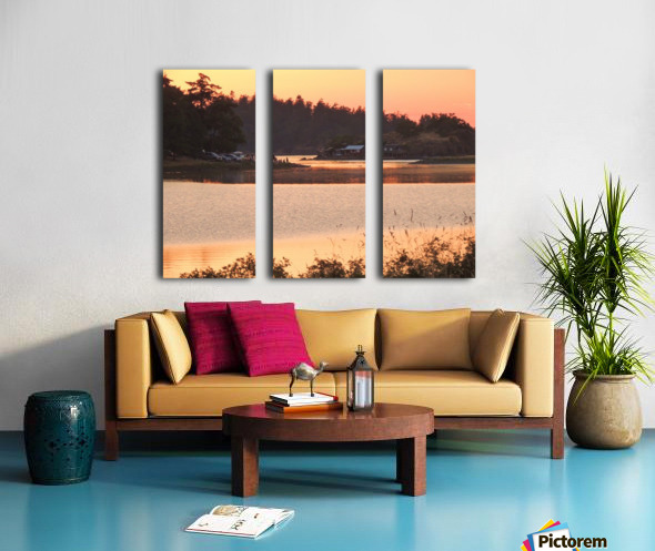 End of a Summer's Day Split Canvas print