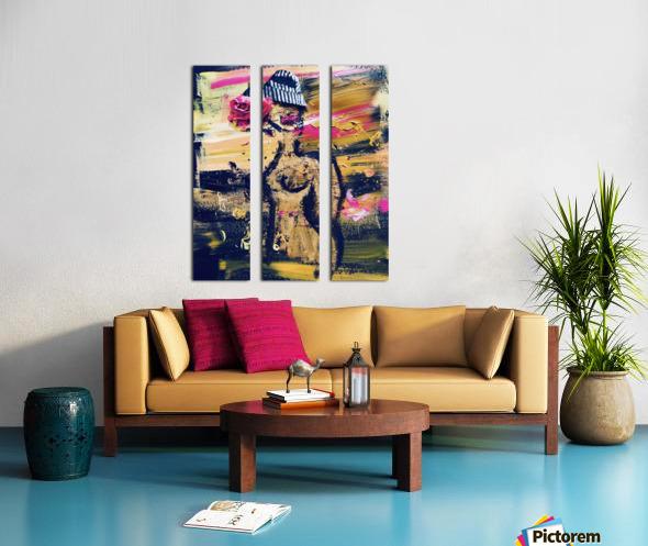 Vivienne Split Canvas print
