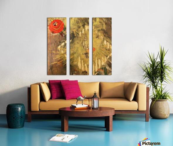 The Queen Split Canvas print