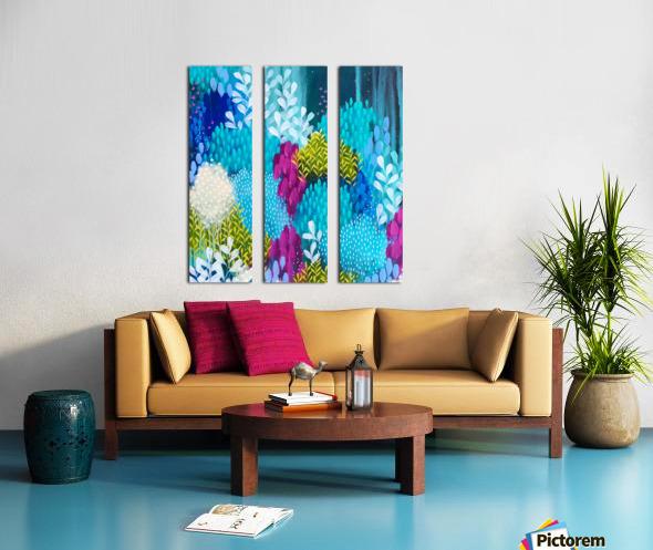 Wanderer Split Canvas print