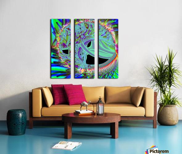 Ambriel Split Canvas print