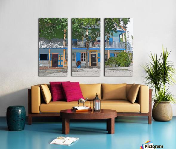 Blue Heaven  Split Canvas print