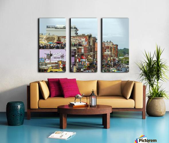 Nashville Split Canvas print