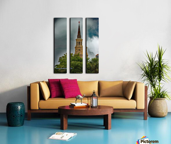 Church Split Canvas print