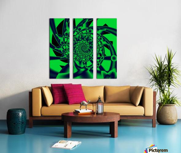 Grinder Split Canvas print