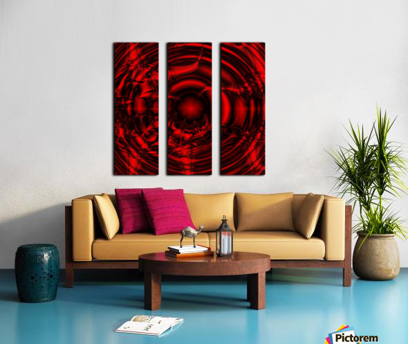 RedCell Split Canvas print