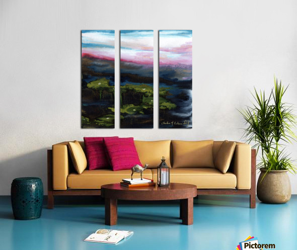Channeling Monet Split Canvas print