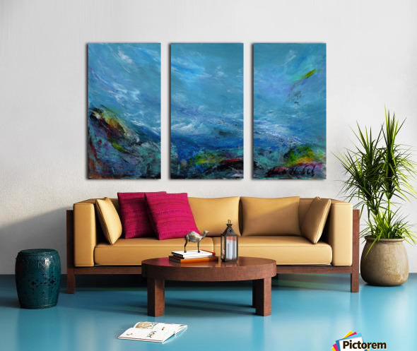 Adrift Split Canvas print