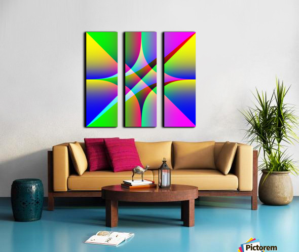 26587 Split Canvas print