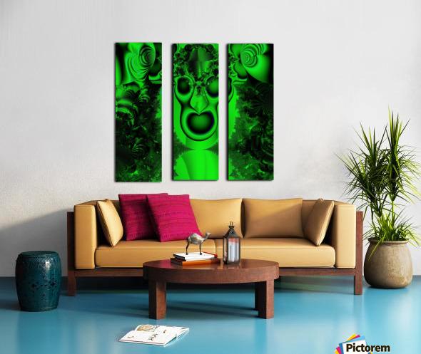 High Shaman Split Canvas print