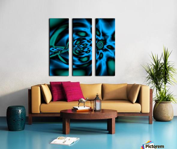 Wormhole approach Split Canvas print