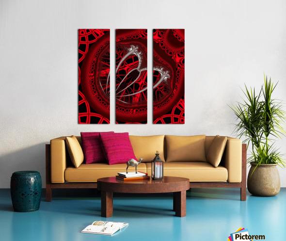 Vampyric cell Split Canvas print