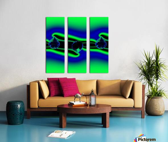 3ofSpades Split Canvas print
