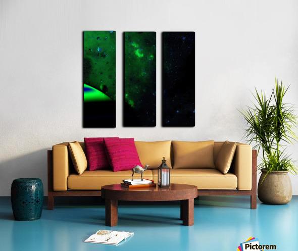 kosmic Split Canvas print