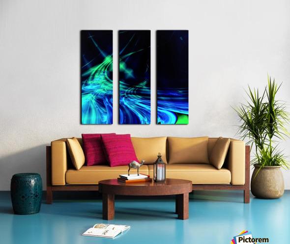 Tsunami Split Canvas print