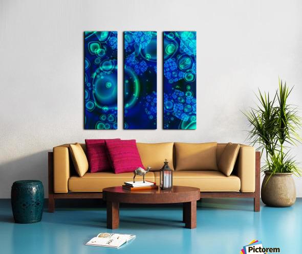SeaCells Split Canvas print