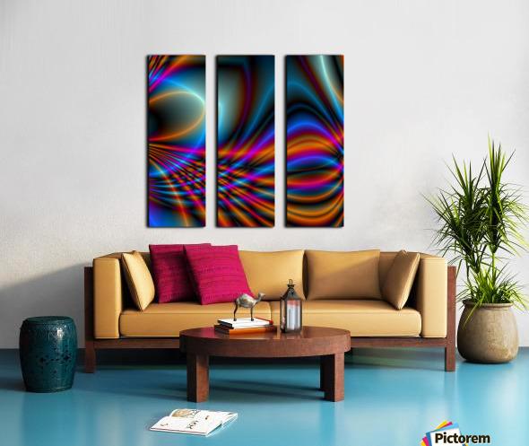 Timestrings Split Canvas print