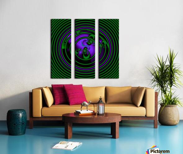 SETI Transmission Split Canvas print